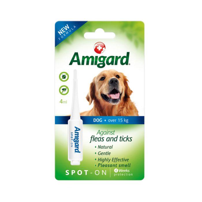天然驅蚤滴劑 大型犬 >15KG (4ML)