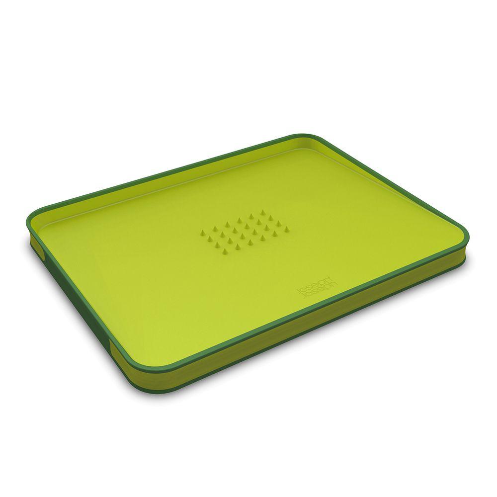 好好切雙面傾斜砧板(Green)-Top