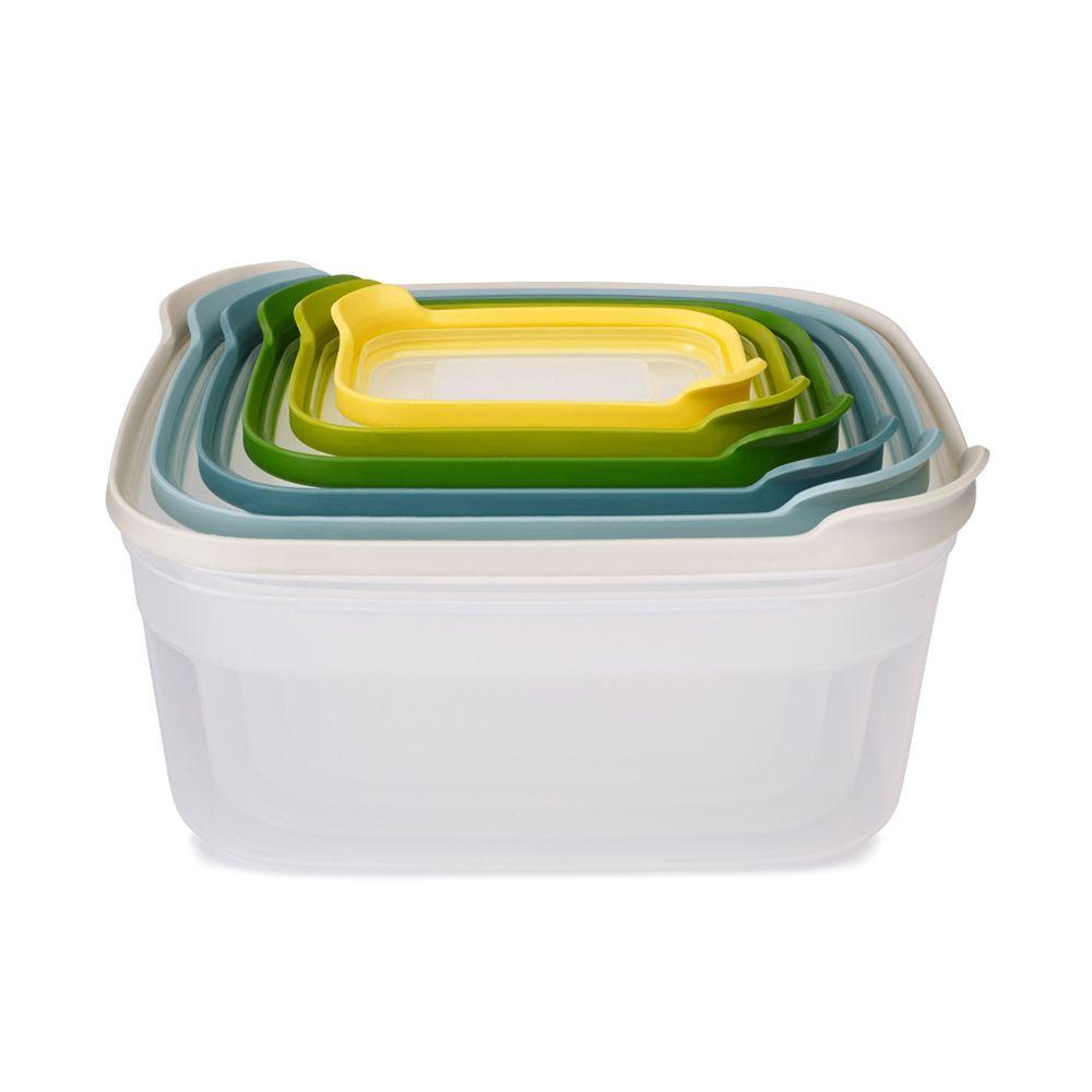 新自然色繽紛收納盒六件組-Top