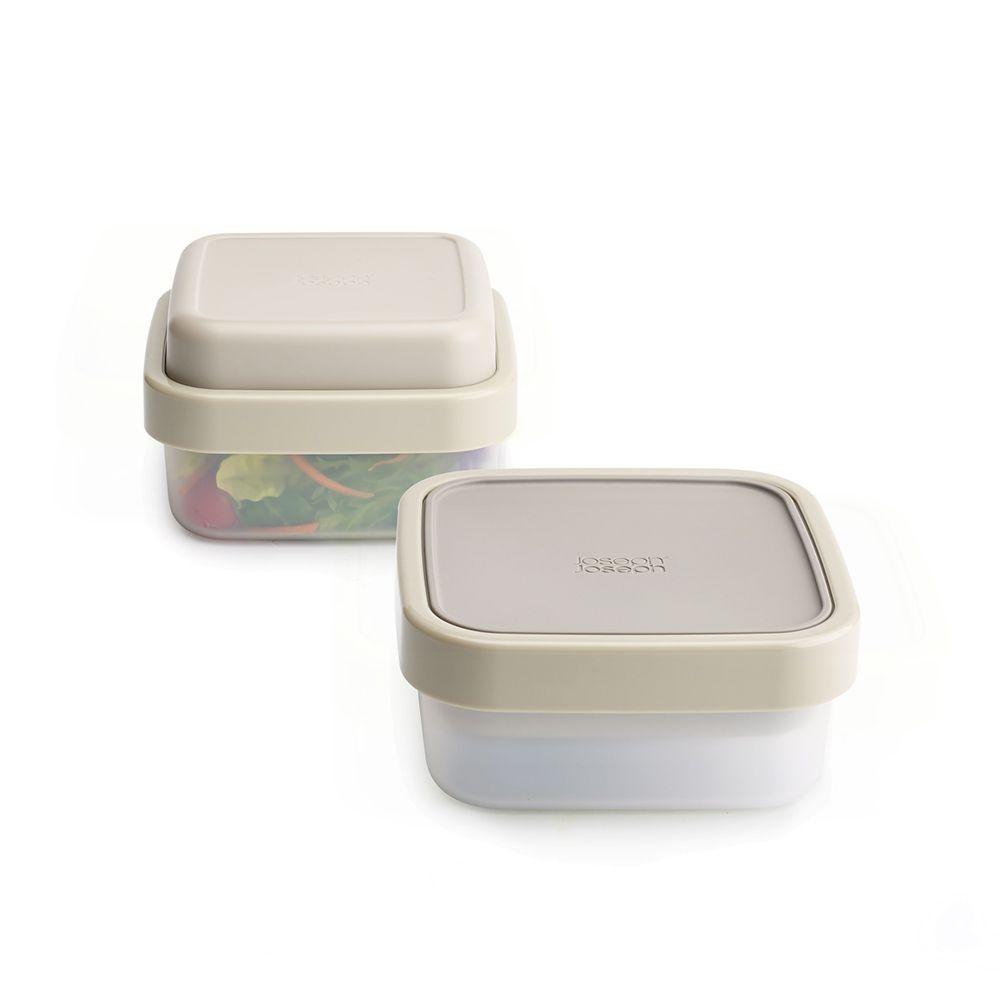 翻轉沙拉盒(Gray)-Top