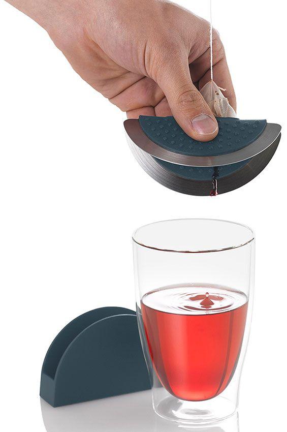 AdHoc 附底座夾茶包杯蓋組