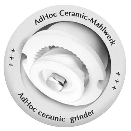 AdHoc 小巧極簡2IN1雙邊陶瓷刀研磨罐