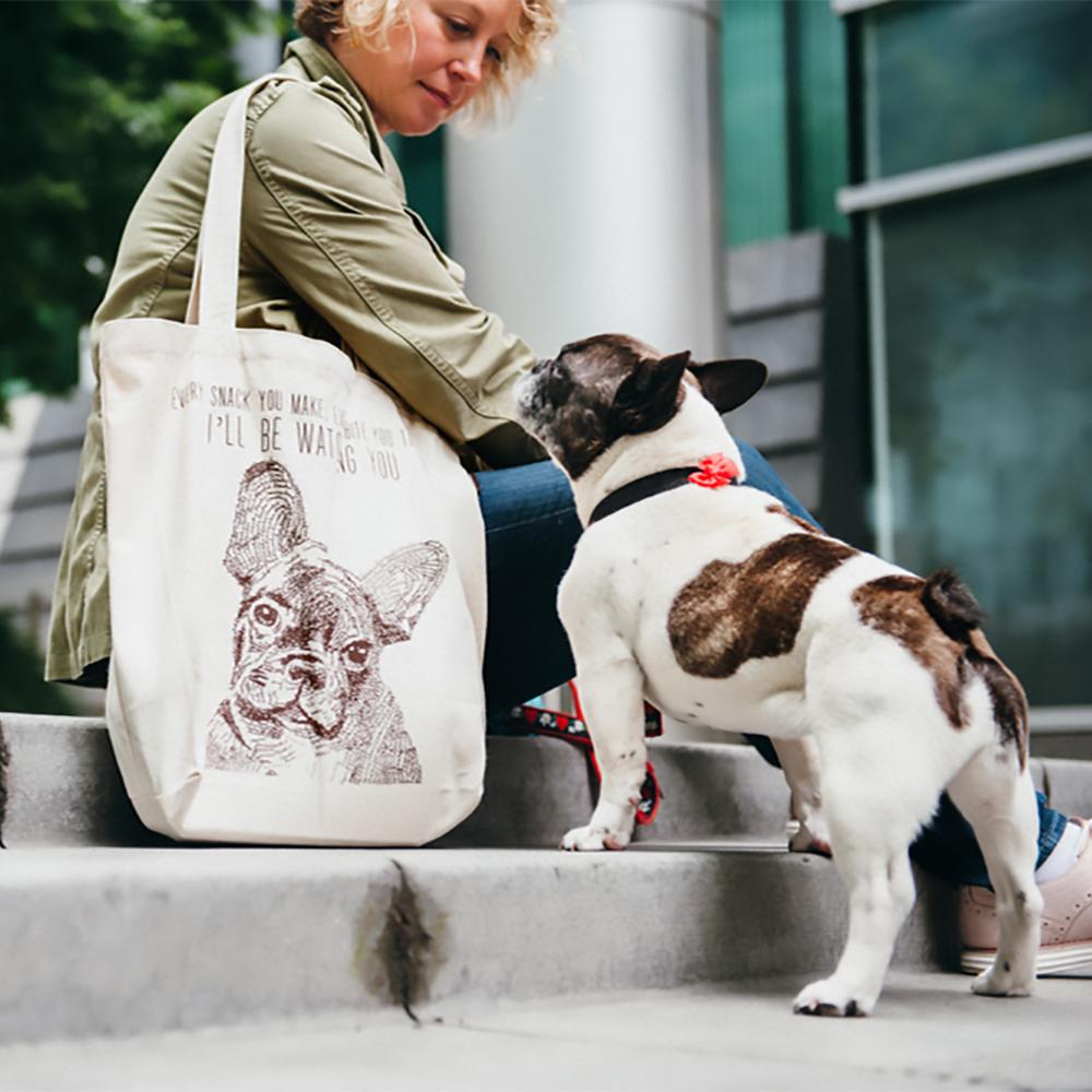 美國 P.L.A.Y. 環保購物袋 (法國鬥牛犬)