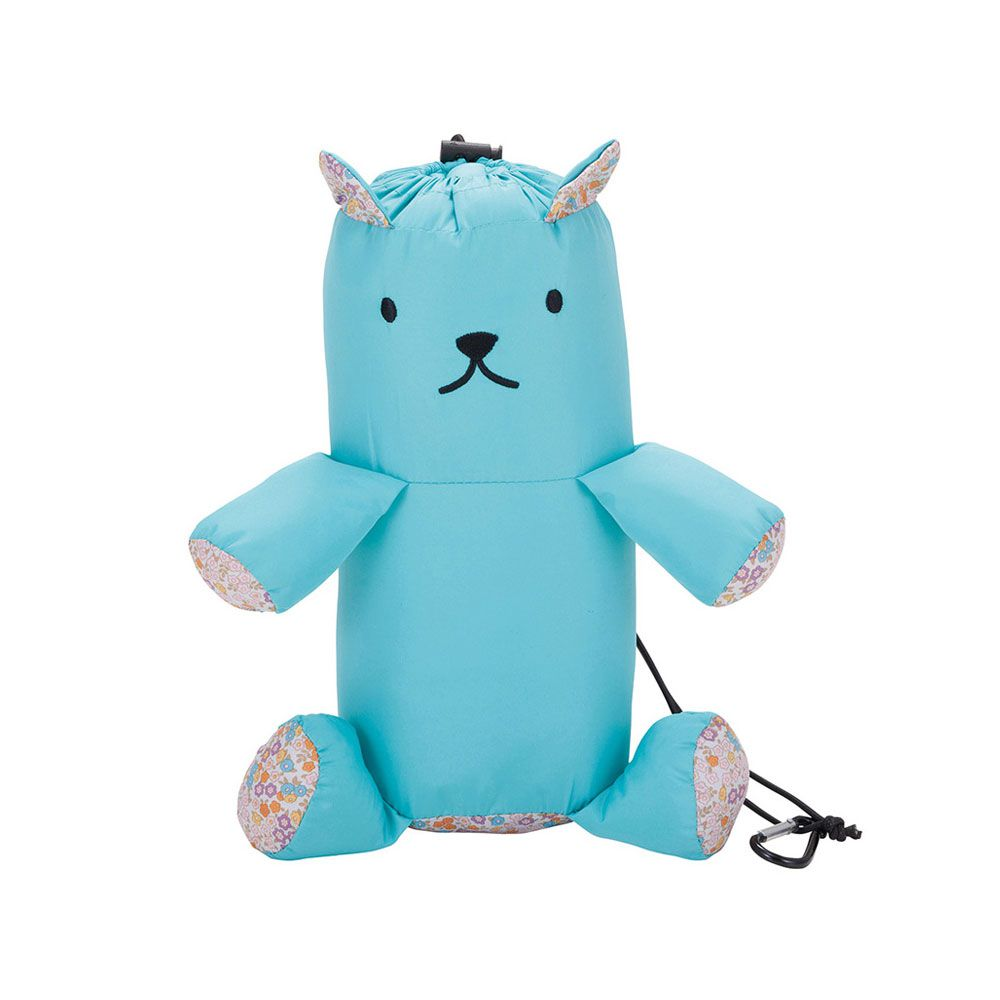 CB JAPAN 小熊攜帶型多功能四季被天藍色