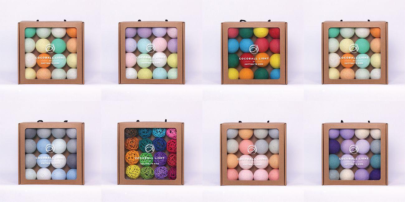 韓國 COTTON TO KIDS 氣氛棉球燈串 COCOBALL LIGHT 系列