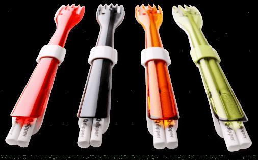 HS201803_野餐_CBJAPAN水玉點點台灣設計製造-Dipper-三合一環保餐具