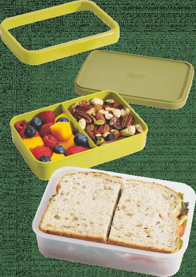 Joseph Joseph 翻轉午餐盒 (綠)