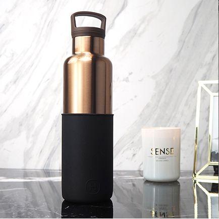 美國 HYDY 時尚不鏽鋼保溫水瓶 金瓶系列