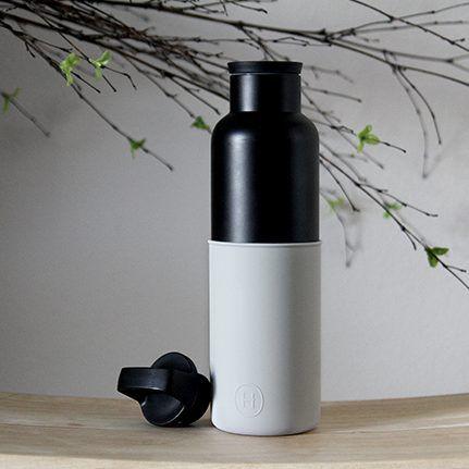 美國 HYDY 時尚不鏽鋼保溫水瓶 黑瓶系列