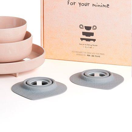 美國 BONNSU miniware 天然寶貝碗 吸盤足
