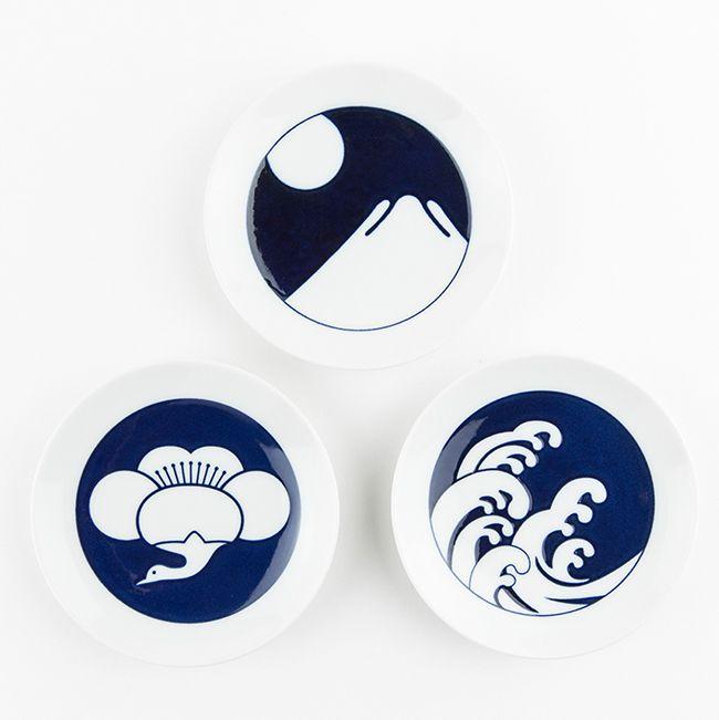 日本 KIHARA 有田燒 瓷器 KOMON系列 豆皿