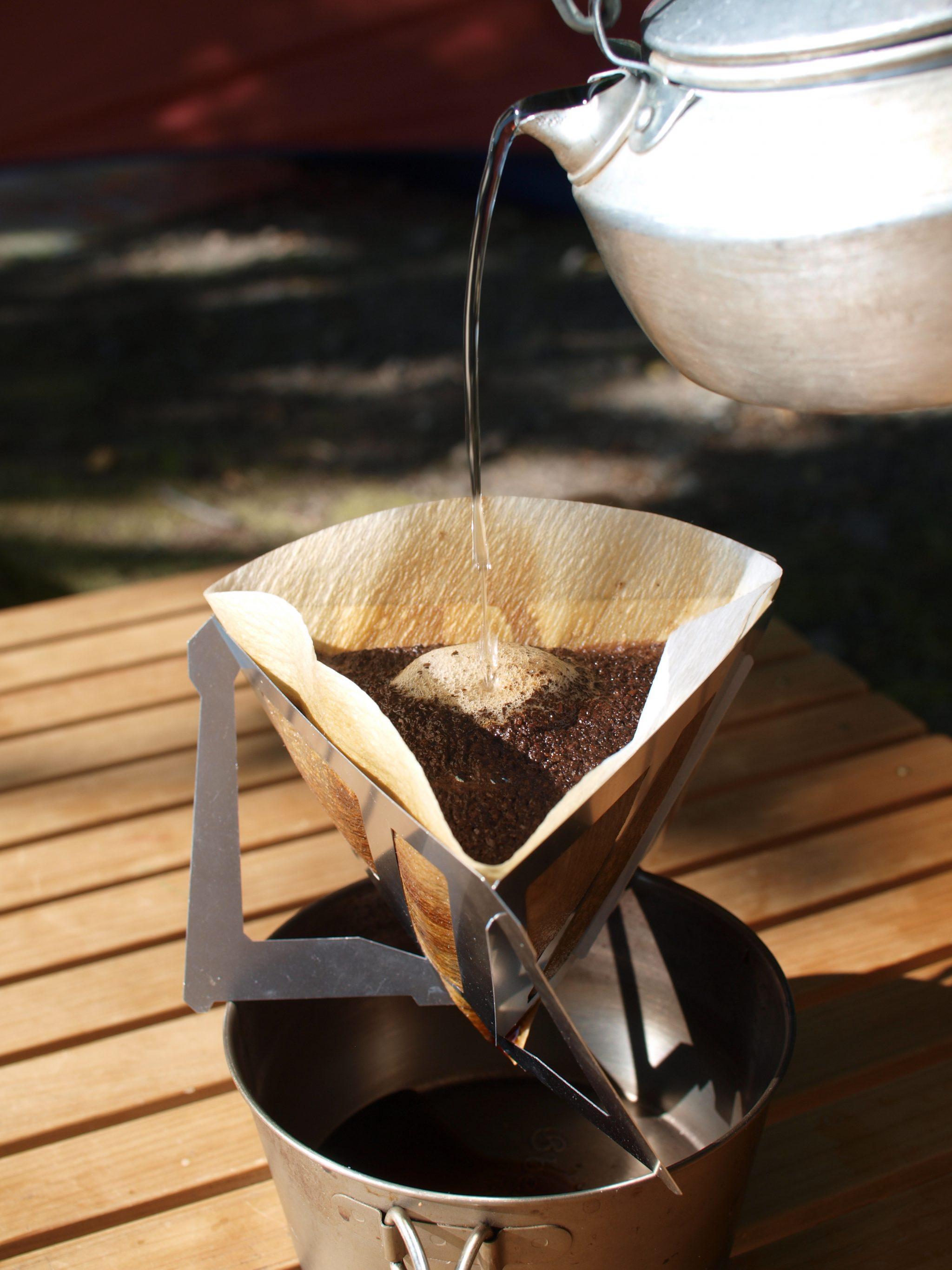 日本製 【MUNIEQ】Tetra Drip 攜帶型濾泡咖啡架 01S