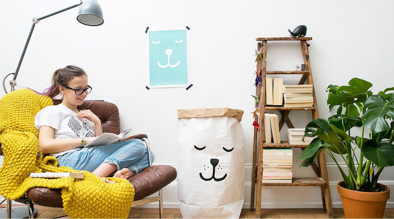 瑞典 TELLKIDDO 可愛圖案收納袋