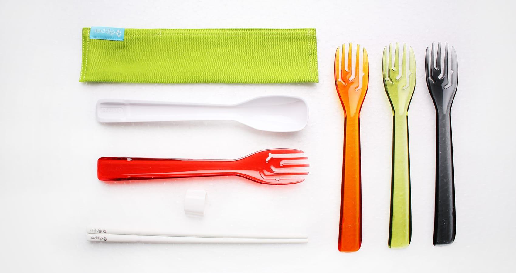 dipper 三合一環保餐具