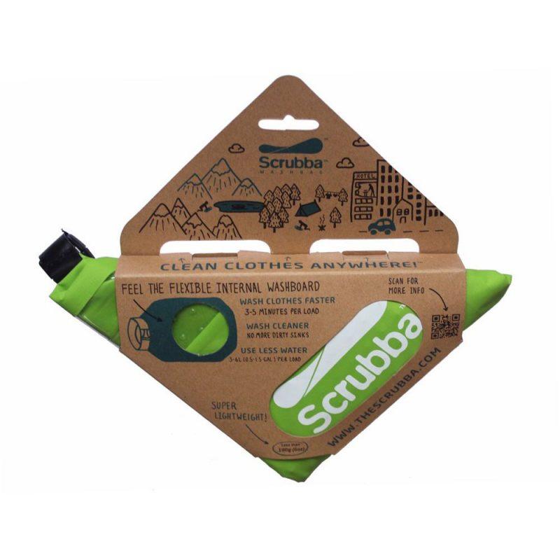 Scrubba 洗酷包 攜帶式洗衣袋 (綠)
