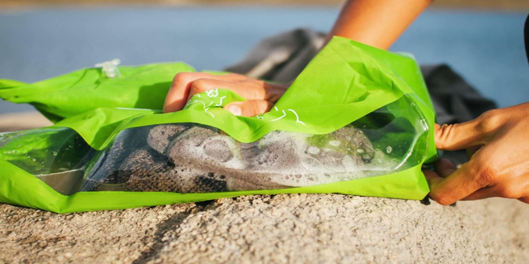 澳洲 Scrubba 夏日限定 洗酷包快乾組合 (綠)