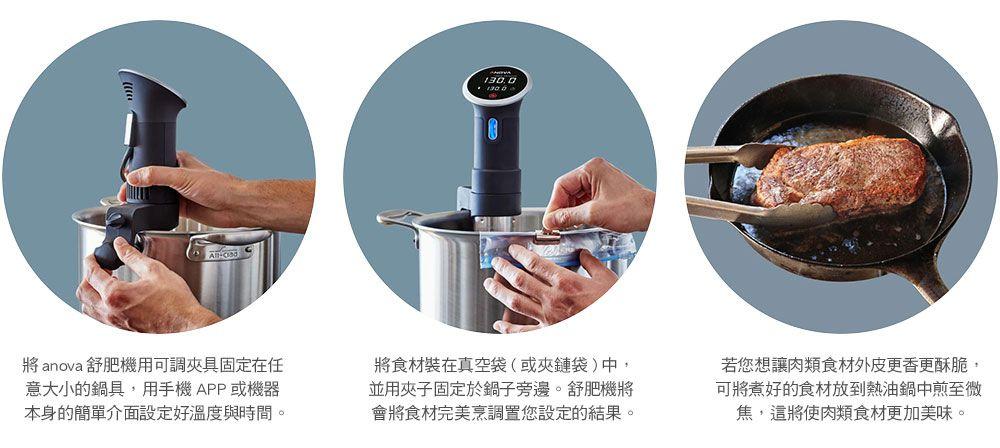 Anova Precision Cooker Sous Vide 舒肥 低溫烹調機 (WiFi+藍芽)7