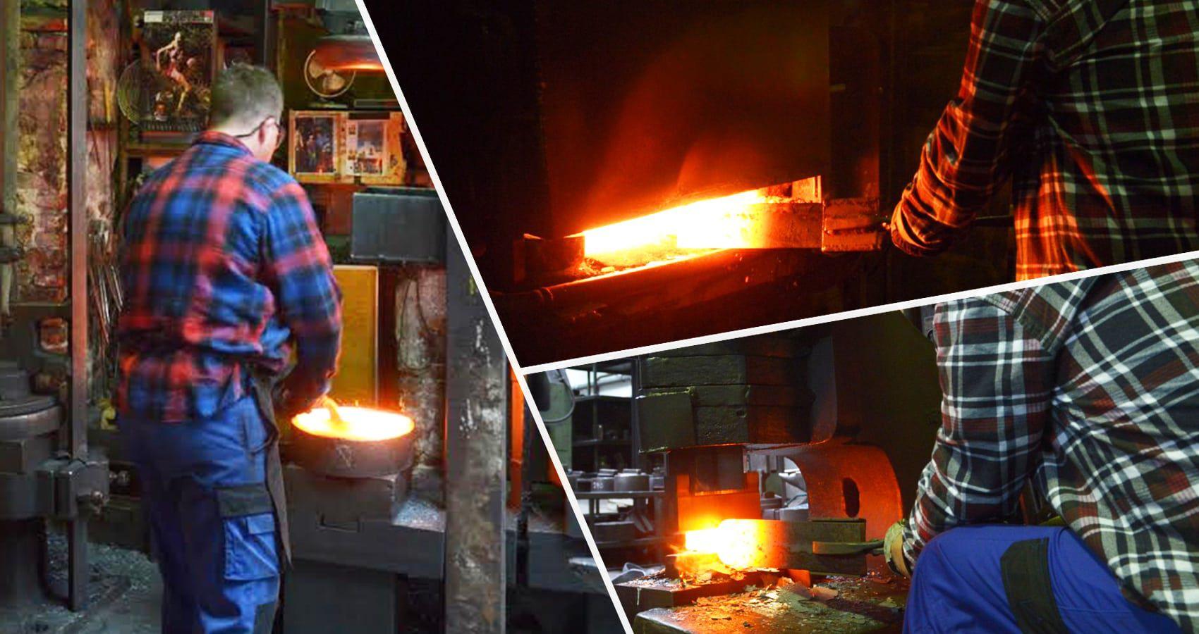 德國 turk 專業版鍛造鐵鍋 / 烤盤