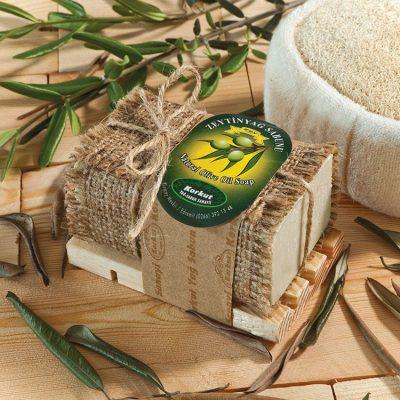 OLIVOS 奧莉芙的橄欖 人氣經典橄欖皂-經典木皂盒