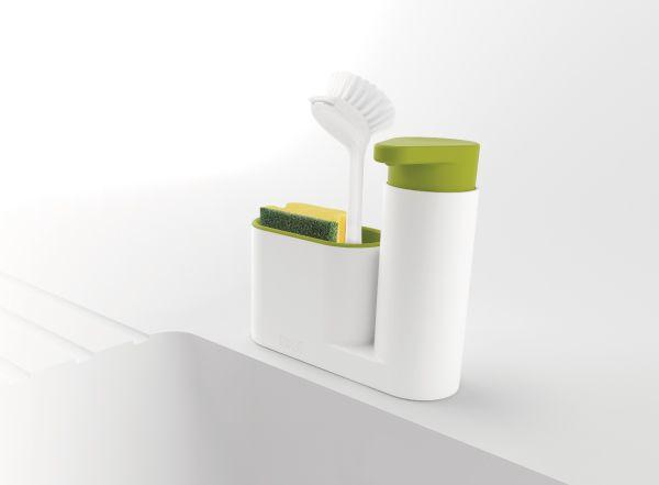 Joseph Joseph 流理台清潔收納小幫手兩件組(綠)3
