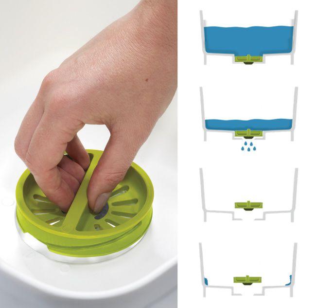 Joseph Joseph 好輕鬆省水洗碗槽Plus(綠白)4