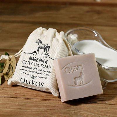 OLIVOS奧莉芙的橄欖-馬奶橄欖皂(袋)