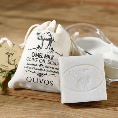 OLIVOS奧莉芙的橄欖-駱駝奶橄欖皂(袋)