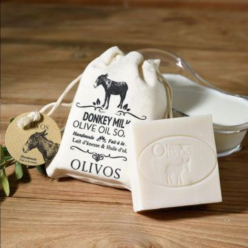 OLIVOS奧莉芙的橄欖-驢奶橄欖皂(袋)
