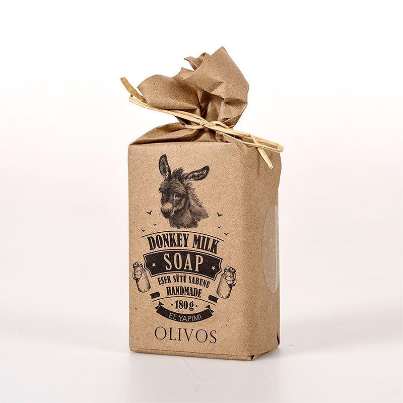 OLIVOS 奧莉芙的橄欖 滋養修護驢奶橄欖皂 180g (盒裝)