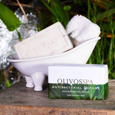 OLIVOS奧莉芙的橄欖-SPA紓壓-抗菌月桂橄欖皂250g