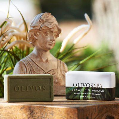 OLIVOS奧莉芙的橄欖-SPA紓壓-海藻礦物250g-情境