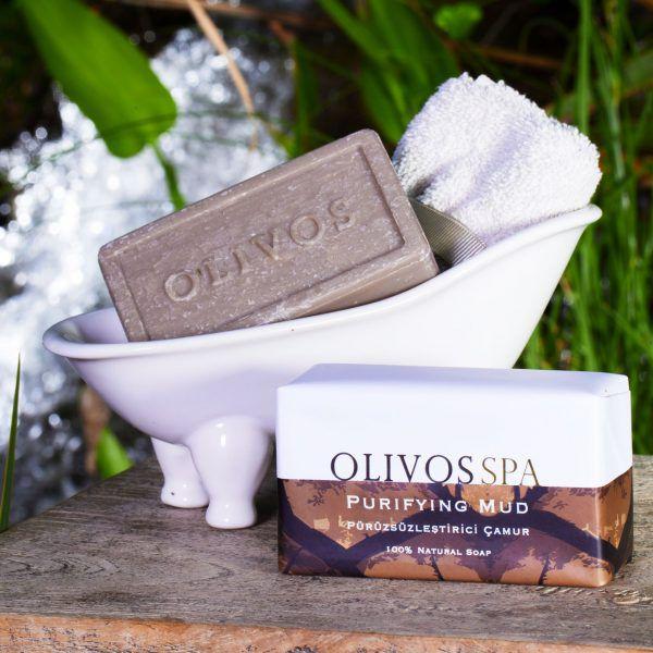 OLIVOS奧莉芙的橄欖-SPA紓壓-淨化礦物泥250g
