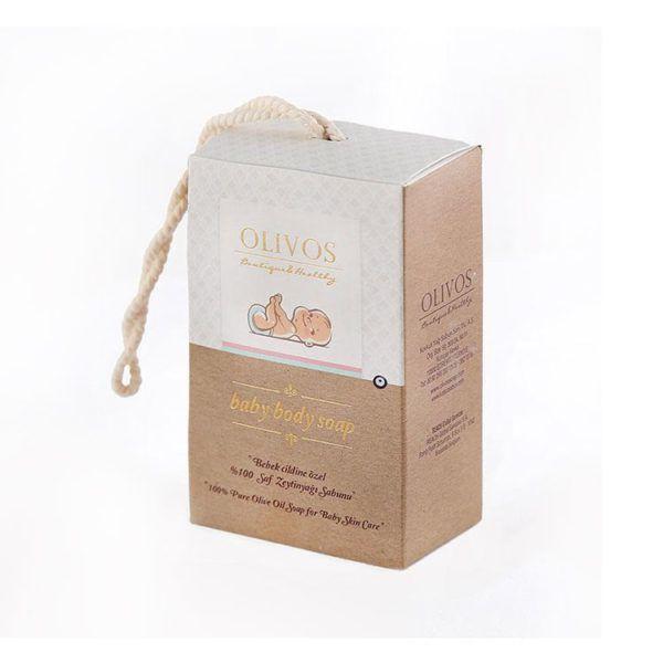 OLIVOS-奧莉芙的橄欖-寶寶敏弱肌橄欖皂