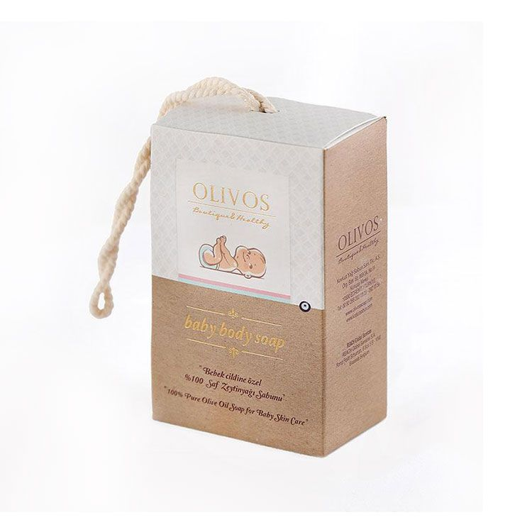 OLIVOS 奧莉芙的橄欖 潔膚橄欖皂 100g