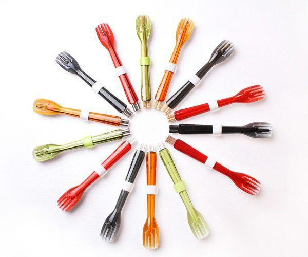 dipper 3合1環保餐具筷叉匙組