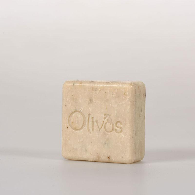 OLIVOS 奧莉芙的橄欖 舒壓薰衣草正方橄欖皂 100g