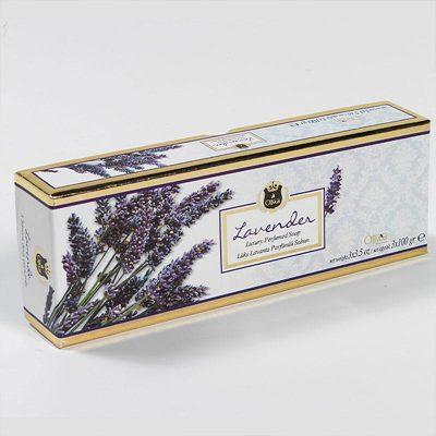 OLIVOS 奧莉芙的橄欖 薰衣草舒壓橄欖皂禮盒