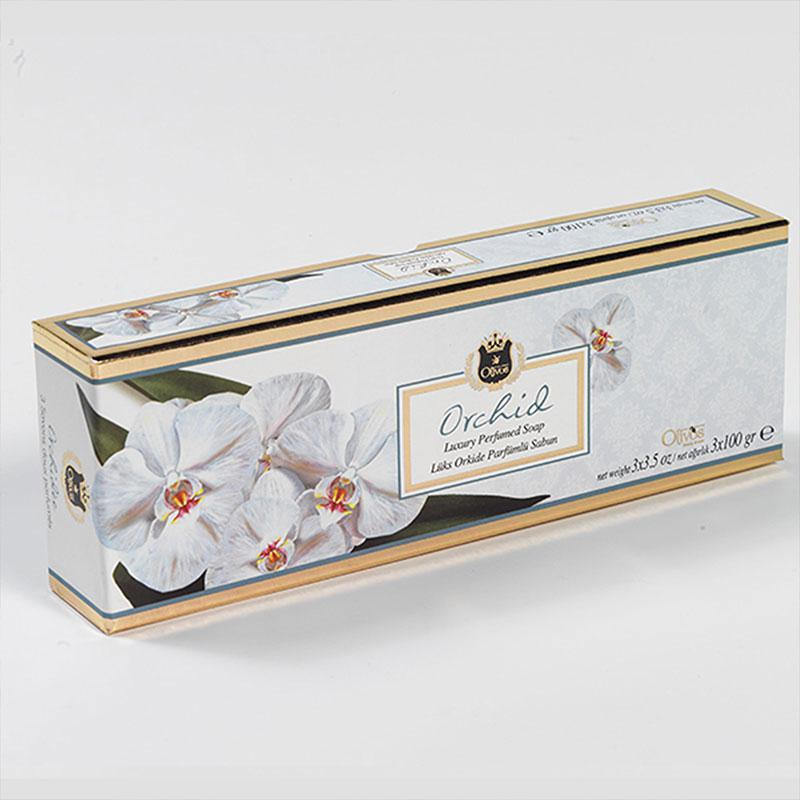 OLIVOS 奧莉芙的橄欖 蘭花柔膚橄欖皂禮盒