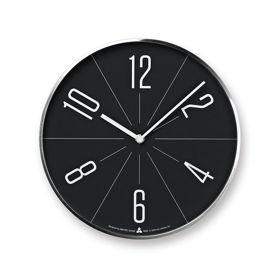 日本 Lemnos GUGU時鐘 (銀框)