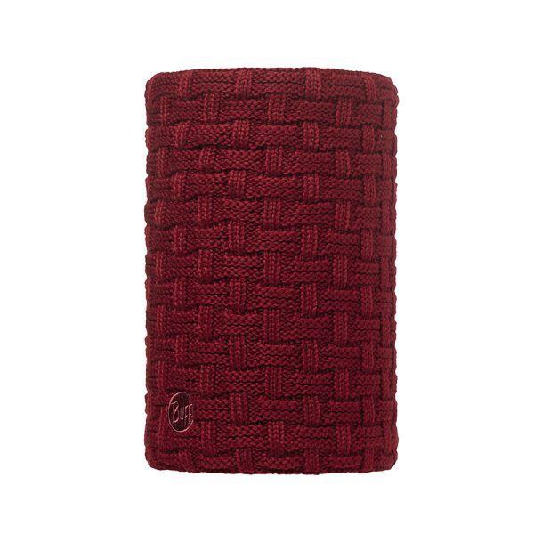 BUFF-Lifestyle-AIRON-針織POLAR保暖領巾(紅)