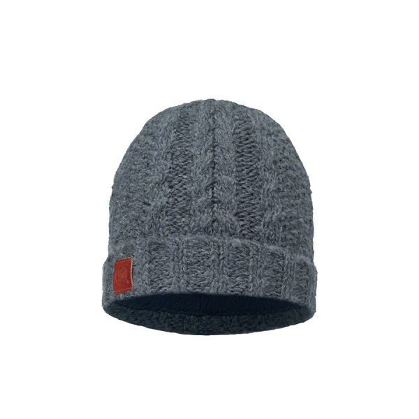 BUFF-Lifestyle-AMBY-針織POLAR保暖帽(灰)