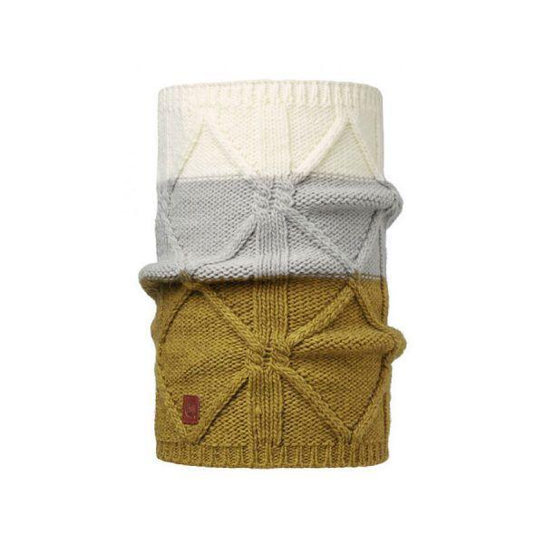 BUFF-Lifestyle-BRAID-針織保暖領巾(棕)