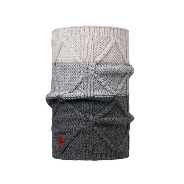 BUFF-Lifestyle-BRAID-針織保暖領巾(灰)