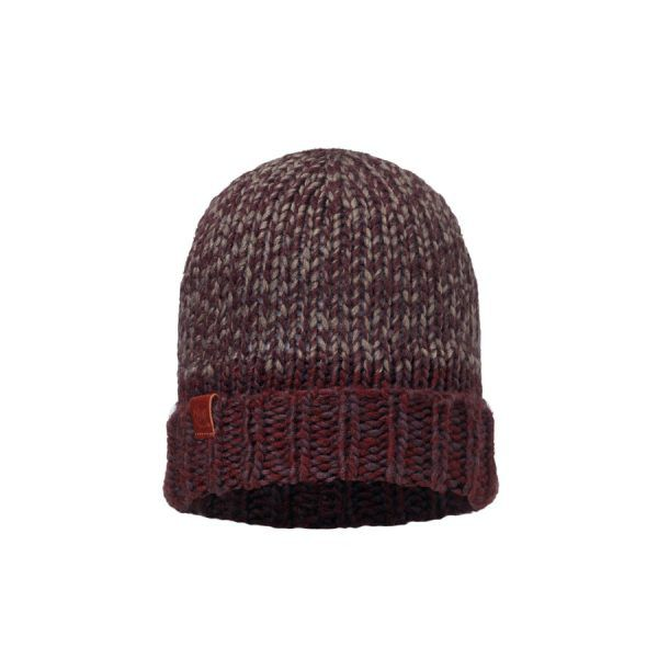 BUFF-Lifestyle-DEAN-針織保暖帽(酒紅)