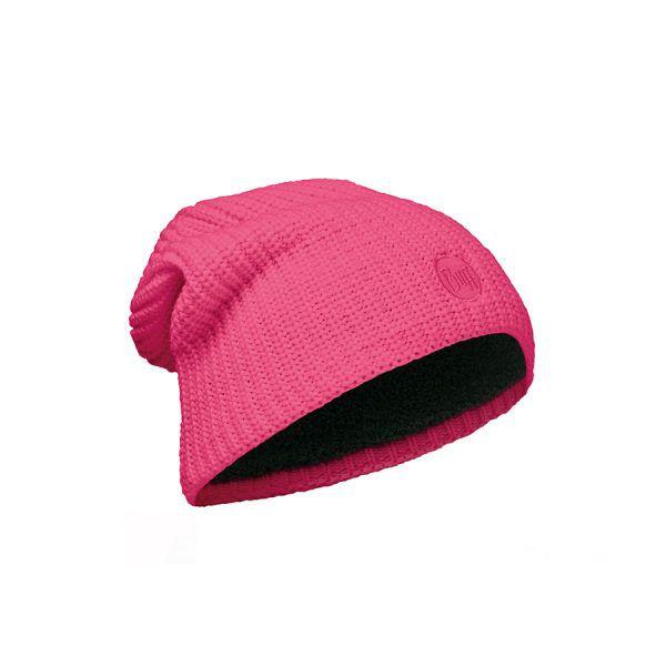 BUFF-Lifestyle-DRIP-針織POLAR保暖帽(桃紅)