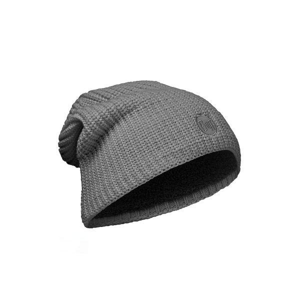 BUFF-Lifestyle-DRIP-針織POLAR保暖帽(灰)