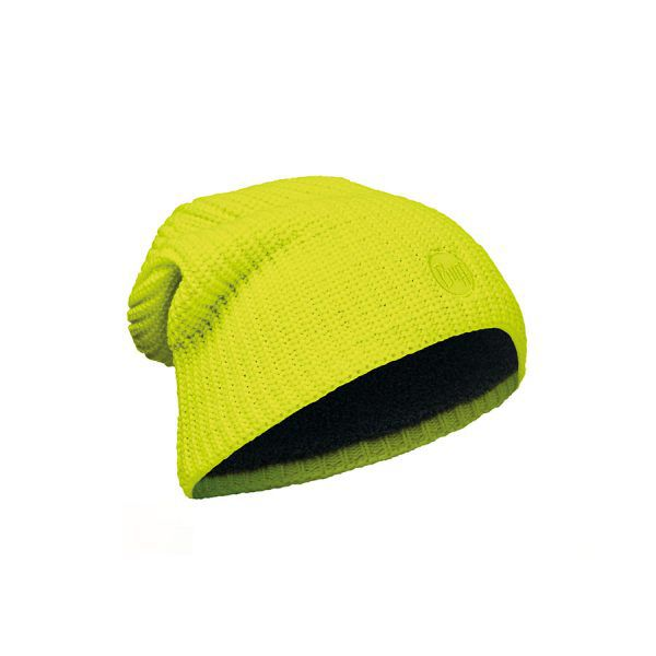 BUFF-Lifestyle-DRIP-針織POLAR保暖帽(黃)