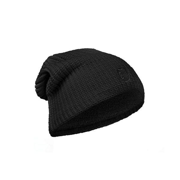 BUFF-Lifestyle-DRIP-針織POLAR保暖帽(黑)