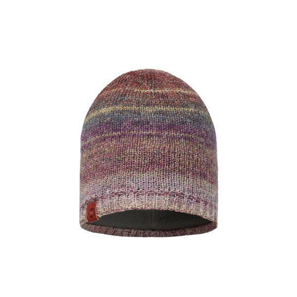 BUFF-Lifestyle-LIZ-針織保暖帽(酒紅)