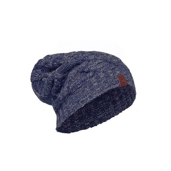 BUFF-Lifestyle-NUBA-針織保暖帽(藍)